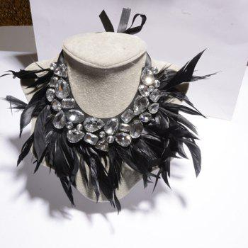 Hot Sale Women's Feather Embellished Necklace