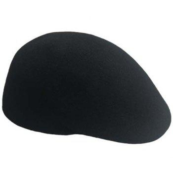 Men and Women's Delicate Solid Color Wool Beret - COLOR ASSORTED COLOR ASSORTED