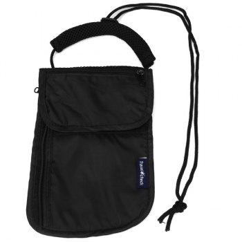Multifunctional Portable Pack Casual Bag with Belt for Outdoor Camping Home Travel - BLACK BLACK