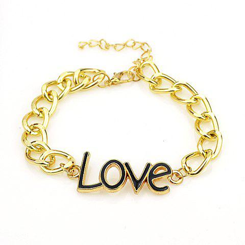 Sweet Cute Women's Letter Bracelet