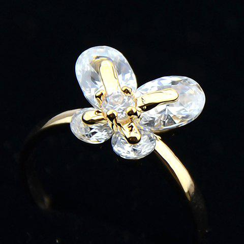 Delicate Cute Women's Rhinestone Bowknot Ring - COLORMIX ONE SIZE(FIT SIZE XS TO M)