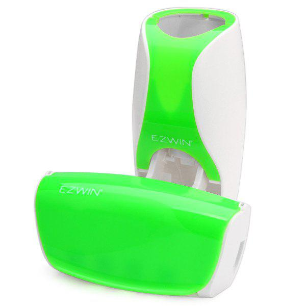 EZ BR01 Automatic Toothpaste Dispenser Squeezer Toothbrush Holder Set Bathroom Household Gadgets - GREEN