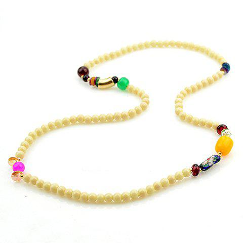 Sweet Cute Women's Colored Beads Layered Bracelet