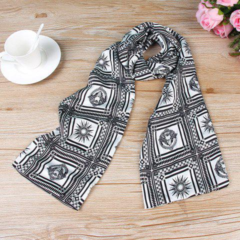 Chic Various Square Design Women's Chiffon Scarf - AS THE PICTURE