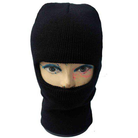 Balaclava Mask Windproof Knitted Hat For Men and Women - COLOR ASSORTED ONE SIZE(FIT SIZE XS TO M)