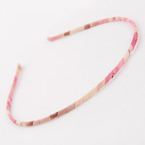 Stylish Print Embellished Hairband For Women - COLOR ASSORTED