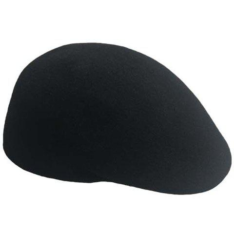 Men and Women's Delicate Solid Color Wool Beret