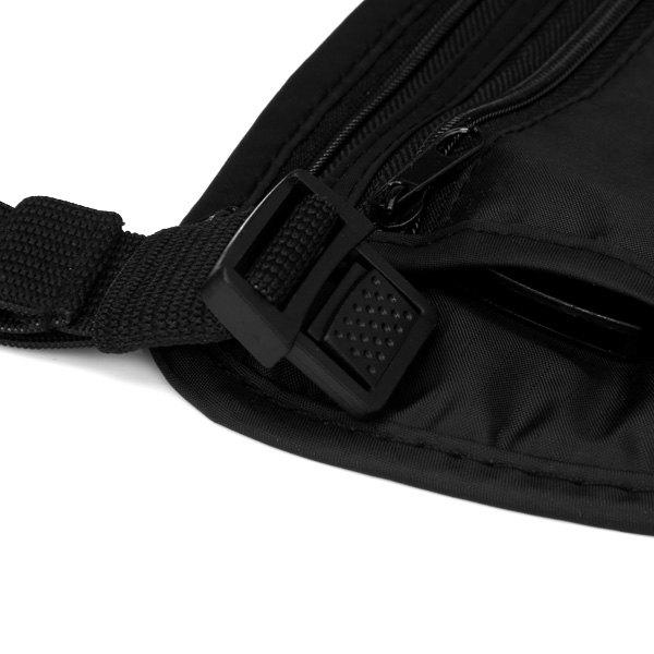 Multifunctional Simple Style Portable Pack Waist Bag for Outdoor Camping Home - BLACK