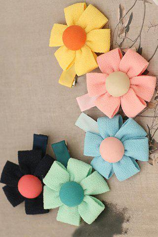 ONE PIECE Chic Women's Flower Hairpin - COLOR ASSORTED