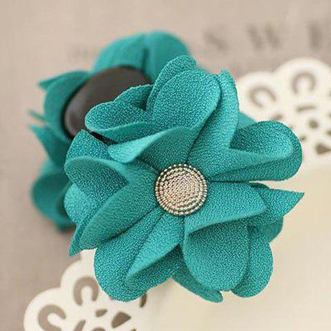 Sweet Women's Solid Color Flower Hairpin - COLOR ASSORTED