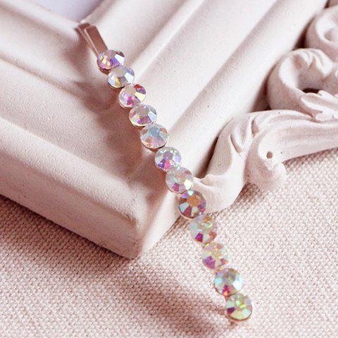 Trendy Rhinestone Embellished Hairpin For Women  (ONE PIECE) - COLOR ASSORTED