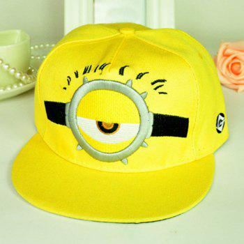 Men and Women's Cute Cartoon Figure Pattern Color Block Baseball Cap