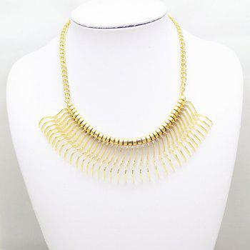 Sparkling Solid Color Special Shape Necklace For Women