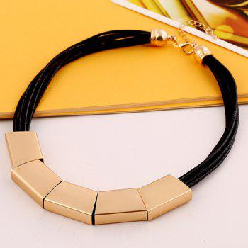 Sparkling Solid Color Pendant Necklace For Women