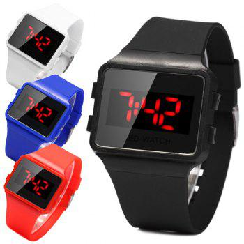 1PC LED Watch Rubber Wristband for Outdoor Sports