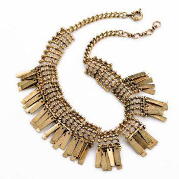 Ethnic Style Solid Color Pendant Women's Necklace - AS THE PICTURE