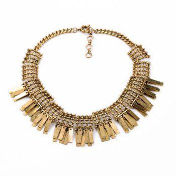 Ethnic Style Solid Color Pendant Women's Necklace