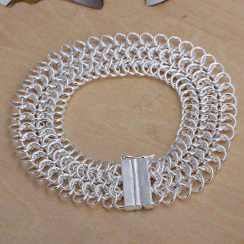 Cool Design Multi-layed Chain Bracelet For Women -  20CM*18MM