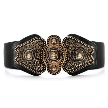 Classic Fashion Women's Pattern Elastic Design Belt