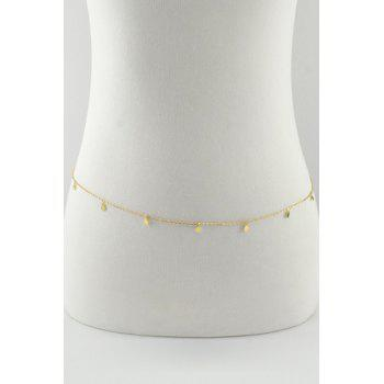 Sequins Embellished Body Chain