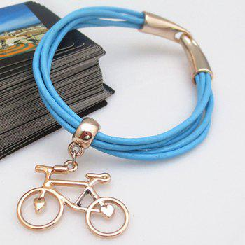 Sweet Cute Women's Bicycle Pendant Bracelet