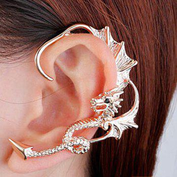 ONE PIECE Rhinestone Dragon Earring