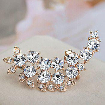 ONE PIECE Chic Stylish Women's Rhinestone Decorated Ear Cuff
