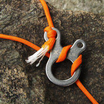 3 Holes Fast Knot Rope Buckle Outdoor Camping Climbing Equipment