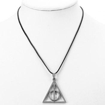 Cool Harry Potter and The Deathly Hallows Necklace Pendants Classic Jewelry -