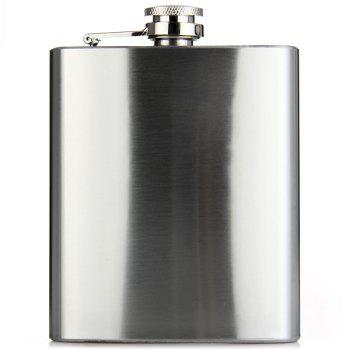 Portable Stainless Steel 7oz Hip Flask for Outdoor Activities