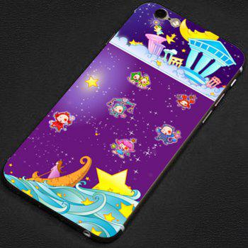 Anti-scratch Phone Sticker Decal Skin with Star Girl Style for iPhone 6 - 4.7 inches -