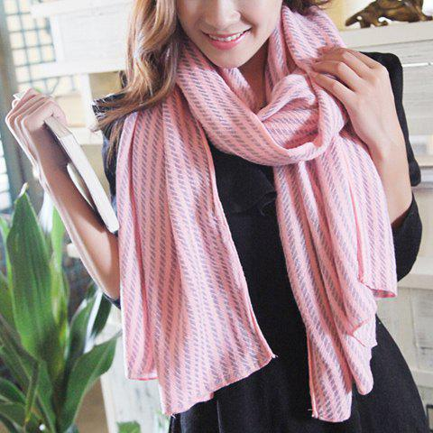 Chic Small Twill Pattern Women's Scarf - COLOR ASSORTED