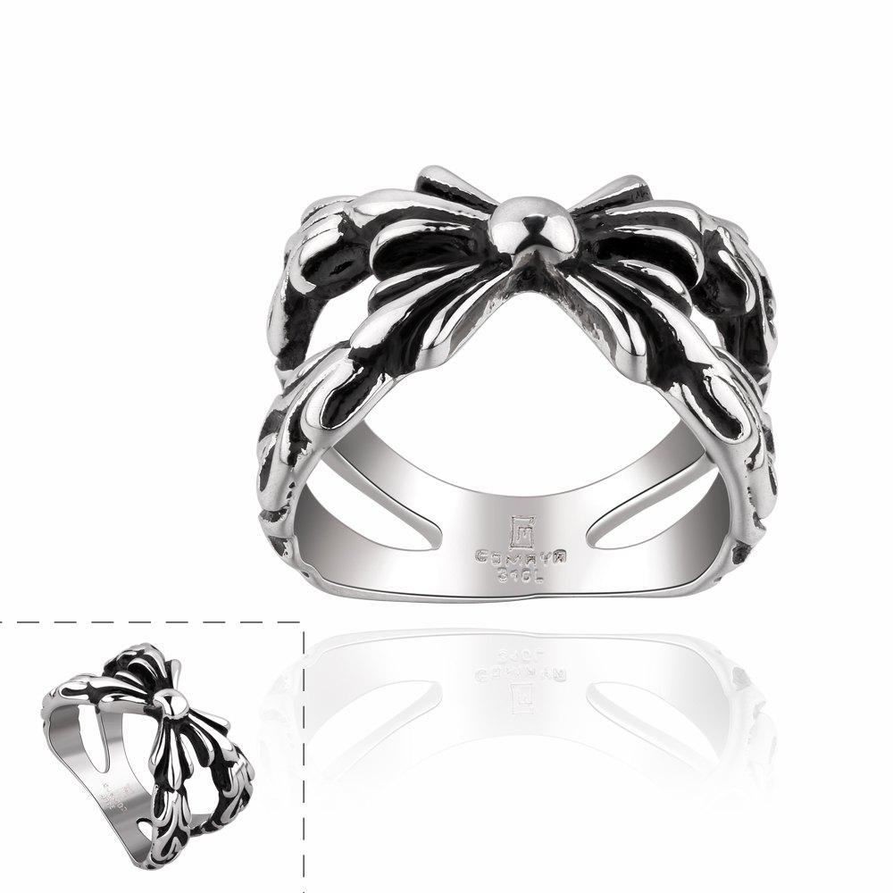 Chic Style Stainless Steel Men's Ring -  US SIZE 8