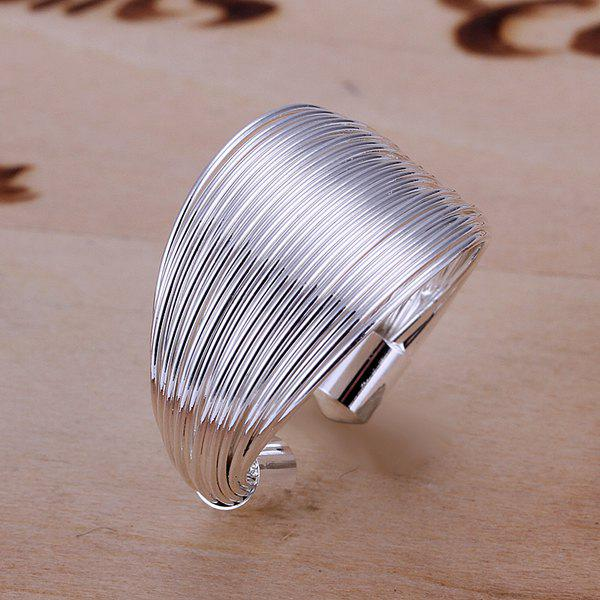 Silver Plated Coil Ring диски helo he844 chrome plated r20