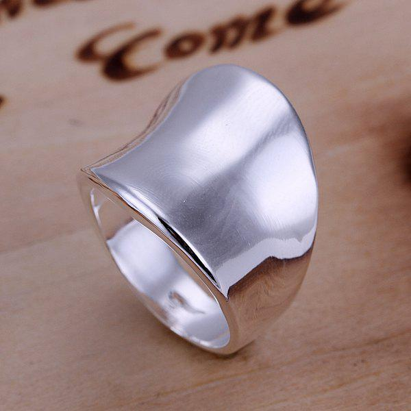 Stylish Thumb Shape Copper Ring -  US SIZE 8