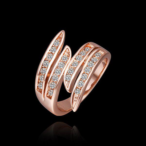Stylish Environmental Alloy Circinate Ring For Women -  US SIZE 8