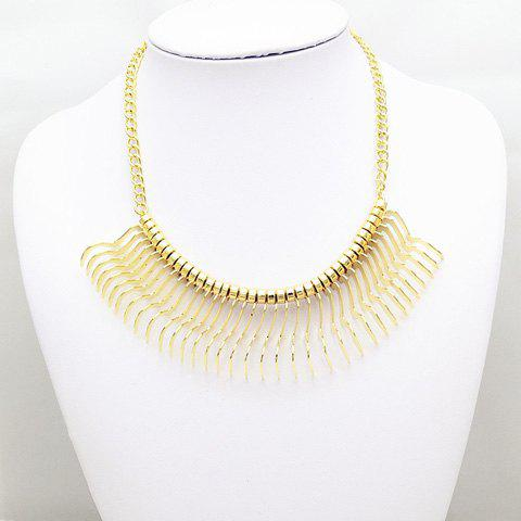 Sparkling Solid Color Special Shape Necklace For Women - AS THE PICTURE
