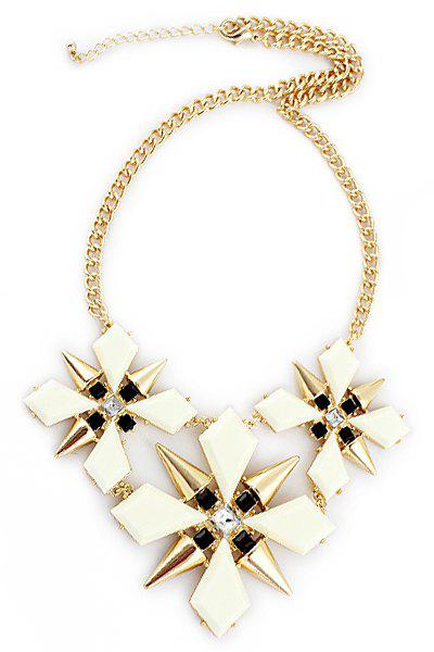 Rivet Special Shape Necklace - AS THE PICTURE