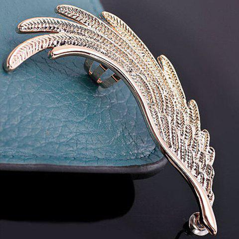 ONE PIECE Rhinestone Wing Ear Cuff - COLORMIX