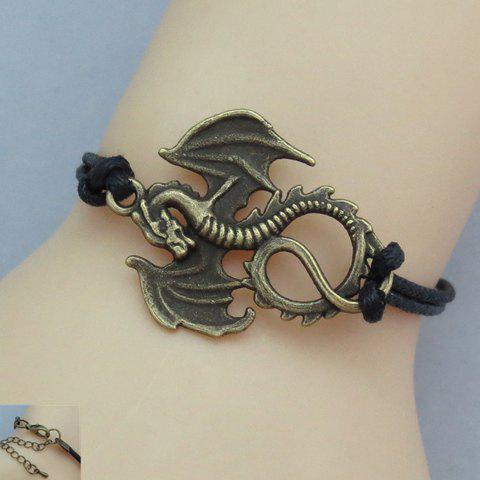 Fashion Chic Women's Dragon With Wings Design Bracelet