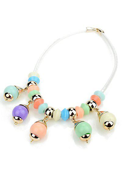 Beads Pendant Necklace - COLORFUL