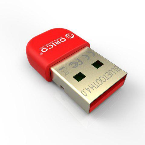 ORICO BTA-403 Mini USB Bluetooth 4,0 Adapteur Adapter Dongle avec Jeu de Puce CSR8510 - Rouge