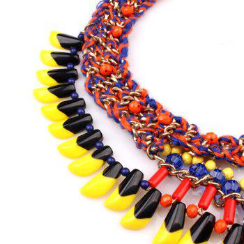 Ethnic Style Multi-Layered Women's Necklace - AS THE PICTURE