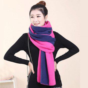 2 in 1 Keep Warm Scarf Knitted Shawl Wrap for Women - ROSE MADDER ROSE MADDER