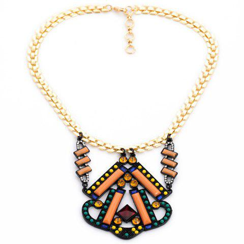 Retro Bohemia Women's BeadsDesign Necklace - AS THE PICTURE