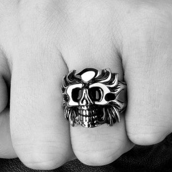 Alloy Skull Shape Ring -  US SIZE 8