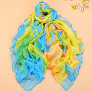 Fashionable Color Splicing Design Scarf For Women