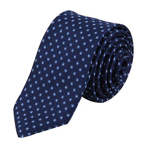 Chic 6 CM Wide Design Polka Dot Tie For Men