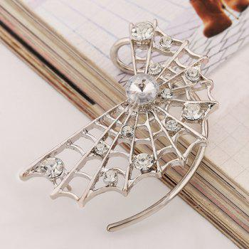 ONE PIECE Rhinestone Openwork Net Earring