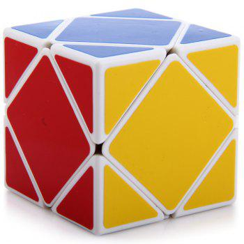 Shengshou Creative 3 x 3 x 3 Skewb Puzzle Speed Cube Brain Teaser
